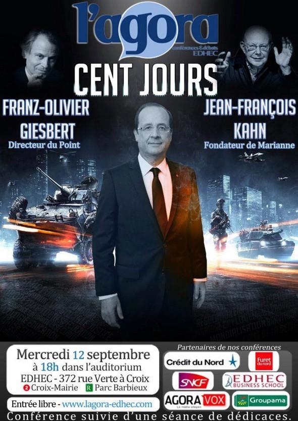 L'Agora reçoit Franz-Olivier Giesbert & Jean-François Kahn